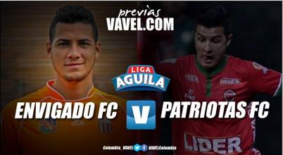 Previa Envigado FC - Patriotas FC: Por la clasificación 'naranja' después de dos años