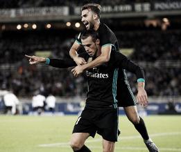 Real Madrid volvió al triunfo de la mano de Borja y Bale