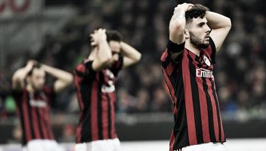 El Milan dice adios al sueño europeo
