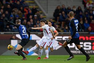 Serie A - Inter-Roma 1-1. Vecino riprende El Shaarawy