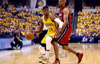 Avec un faible Bosh, les Heat s'inclinent face aux Pacers