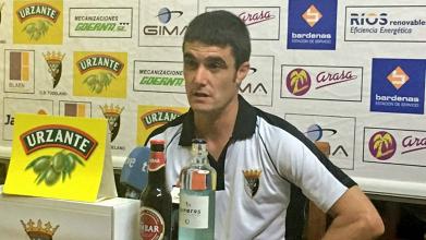 """Sergio Amatrain: """"Cada gol en contra nos supone un golpe fuerte"""""""