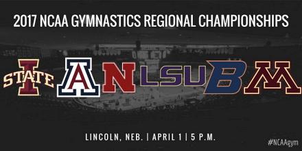 NCAA Gymnastics: Lincoln Regional LSU Tigers & Nebraska Corn Huskers progress to Nationals