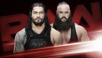 Previa Monday Night Raw 16/10/17: Reigns y Strowman en una 'steel cage match'