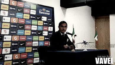 """Palencia: """"La presión está desde el momento en que estoy aquí"""""""