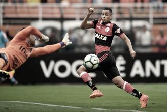 """Geuvânio garante confiança mesmo após poucas chances no Flamengo: """"Sei o que posso fazer"""""""