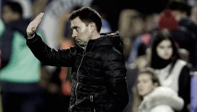 """Asier Garitano: """"Intentaremos llevar la eliminatoria al Bernabéu"""""""