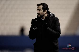 """Diego Martínez: """"Hemos sumado los primeros tres puntos de una semana muy bonita"""""""