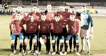 Aarón, titular con la selección sub-21
