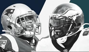 Patriots - Eagles, una final que se repite