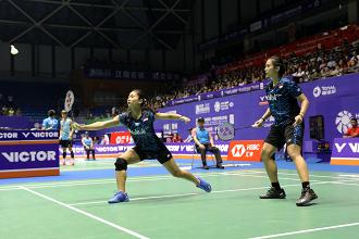 Sengit, Anggia/Ketut Dihentikan Unggulan Pertama  di China Open 2018