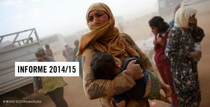 Amnistía Internacional denuncia un 2014 'catastrófico' para los derechos humanos