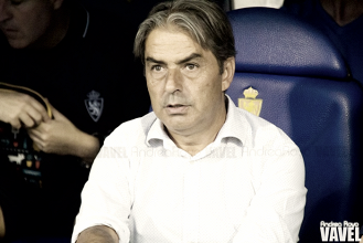 "Natxo González: ""No vamos a tirar nada"""
