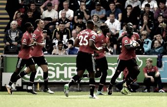 PremierLeague: Manchester United atropela Swansea