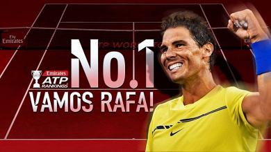 Ranking ATP - Nadal torna ufficialmente N°1, balzo Dimitrov