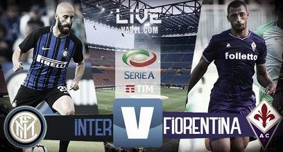 Resultado Internazionale x Fiorentina pela Serie A (3-0)