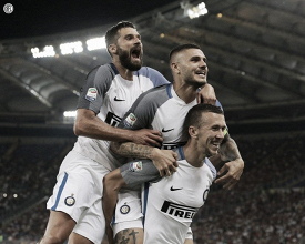 Inter, spareggio Champions con la Roma
