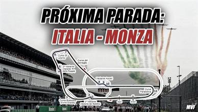 Próxima Parada: Monza, el templo de la velocidad