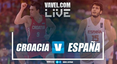 Resumen Croacia 73 vs 79 España en Eurobasket 2017