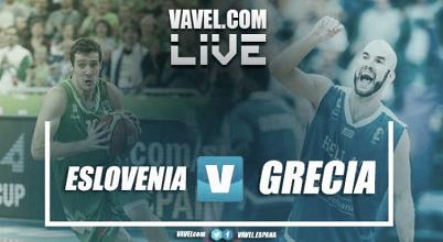 Resumen Eslovenia 78-72 Grecia en Eurobasket 2017