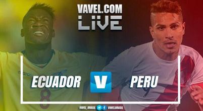 El sueño del mundial para Ecuadorse acabó. Perú logró llevarse la victoria de visitante(1-2)