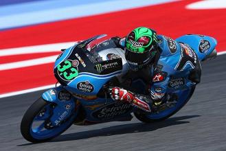Moto3, Gp di Misano - Bastianini conquista la pole in casa