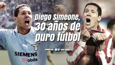 Diego Simeone: 30 años de puro fútbol