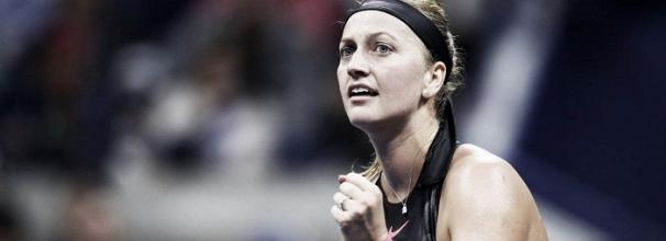 Kvitova desbanca Muguruza e desafia Venus nas quartas do US Open