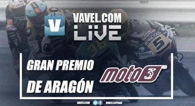 Carrera GP Aragón 2017 de Moto3 en vivo y en directo online