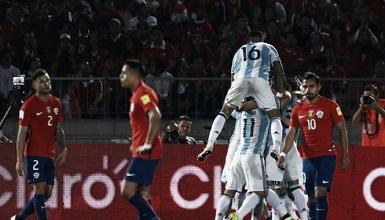 Venta de entradas vs. Chile