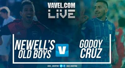 Resumen Newell´s vs Godoy Cruz en vivo online por Superliga Argentina (0-0)