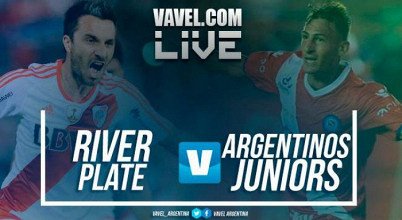 Resultado River Plate vs Argentinos Juniors en vivo por Superliga 2017 (1-1)