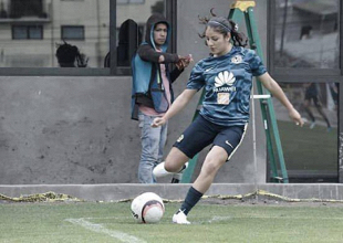"""Alexia Delgado: """"Un sueño estar en el América"""""""