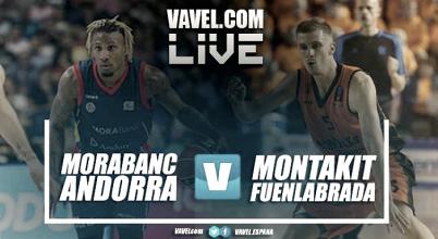 Resumen. MoraBanc Andorra 94-95 Montakit Fuenlabrada en ACB 2017