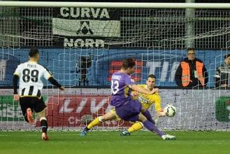 Serie A: La Fiorentina freinée au Friuli