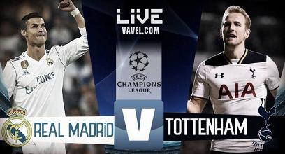 Real Madrid - Tottenham in diretta, LIVE Champions League 2017/18 (20:45)