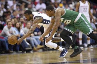 Wizards empata la serie ante Celtics