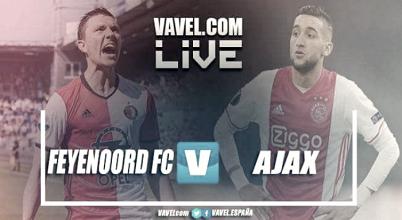 El Ajax se lleva el clásico holandés ante un indefenso Feyenoord