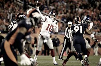 Eli Manning en busca de otra marca