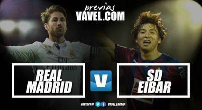 Real Madrid – Éibar: Examen en el Santiago Bernabeu