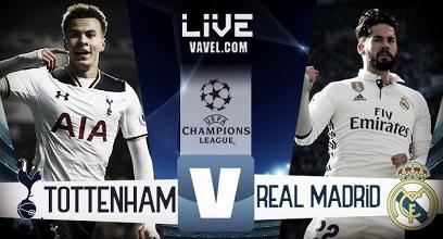 Risultato Tottenham - Real Madrid in diretta, LIVE Champions League 2017/18 - Alli(2), Eriksen, Ronaldo! (3-1)