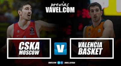 Previa CSKA Moscú - Valencia Basket: romper la maldición rusa