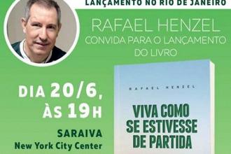 Rafael Henzel lança livro sobre a vida após acidente da Chapecoense