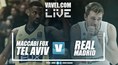 Resumen Maccabi Fox Tel Aviv 90 vs 83 Real Madrid en Euroliga 2017