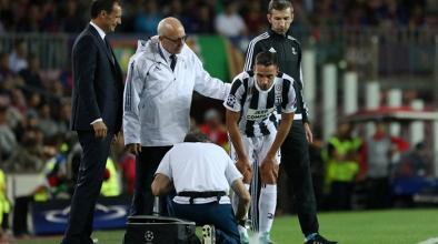 Juventus, lesione per De Sciglio: a rischio la presenza nel prossimo incontro di Champions League