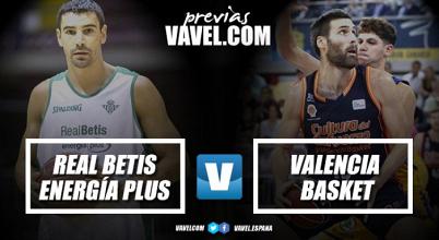 Previa Real Betis Baloncesto - Valencia Basket: el Supercampeón inicia la Liga en Sevilla
