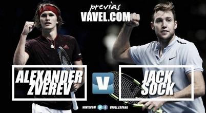 Previa Alexander Zverev - Jack Sock: Dimitrov espera en semifinales