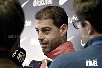 """Gerard López: """"Con los resultados de las primeras partes seríamos líderes"""""""