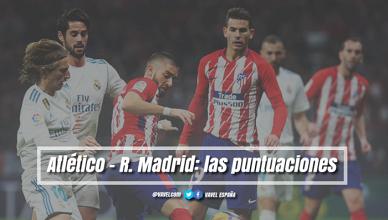 Atlético de Madrid-Real Madrid, puntuaciones del Atlético, jornada 12 de LaLiga Santander