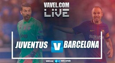 Resumen Juventus vs Barcelona (0-0)